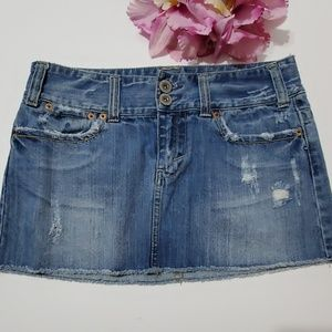 American Eagle Jean Skirt - Size 6